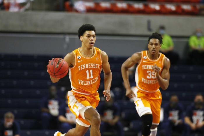 San Antonio Spurs: Jaden Springer, Tennessee