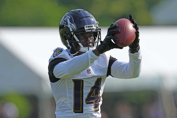 Baltimore Ravens Weakness: Wide Receivers