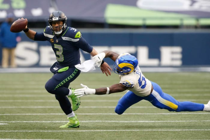 Russell Wilson's morale