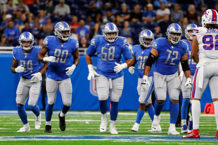 Detroit Lions Strength: Offensive Line