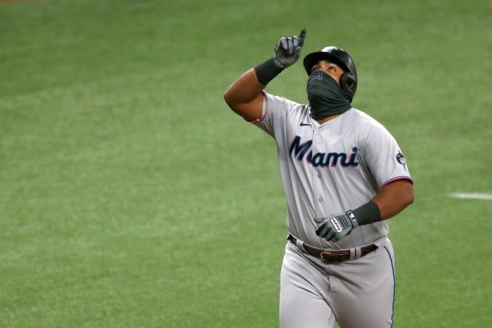 Jesus Aguilar, 1B Miami Marlins