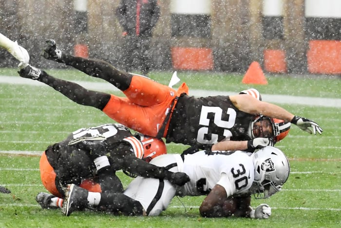 Cleveland Browns, safety