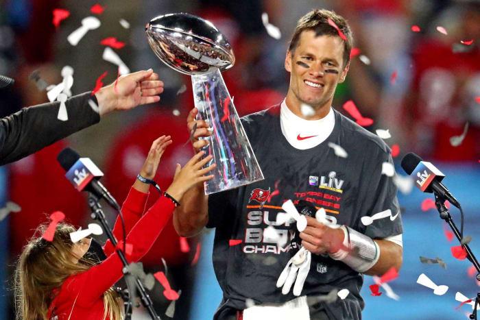 Tom Brady at age 44