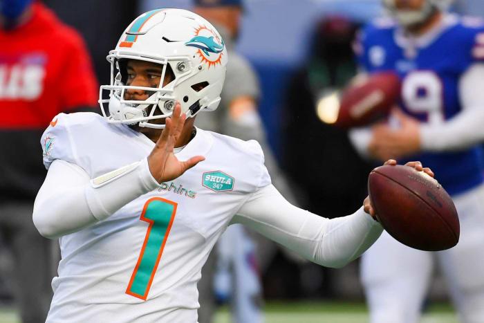Miami Dolphins: Tua Tagovailoa, QB