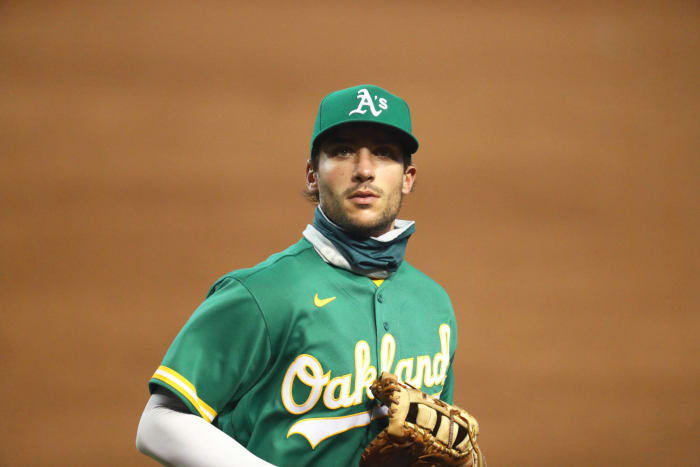 Matt Olson, Athletics