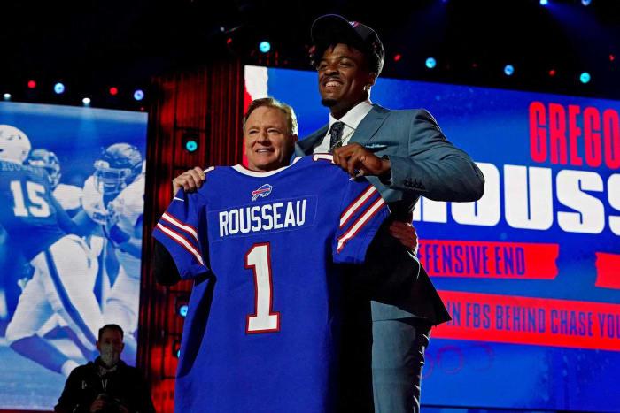 Buffalo Bills: Gregory Rousseau, DE
