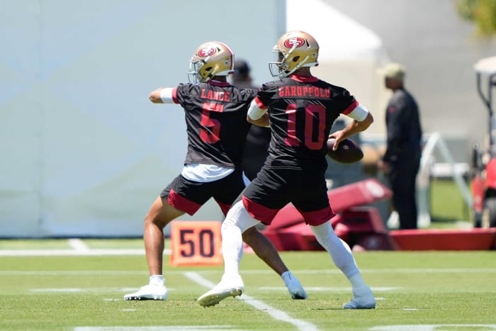 Jimmy Garoppolo or the future in the San Fran?