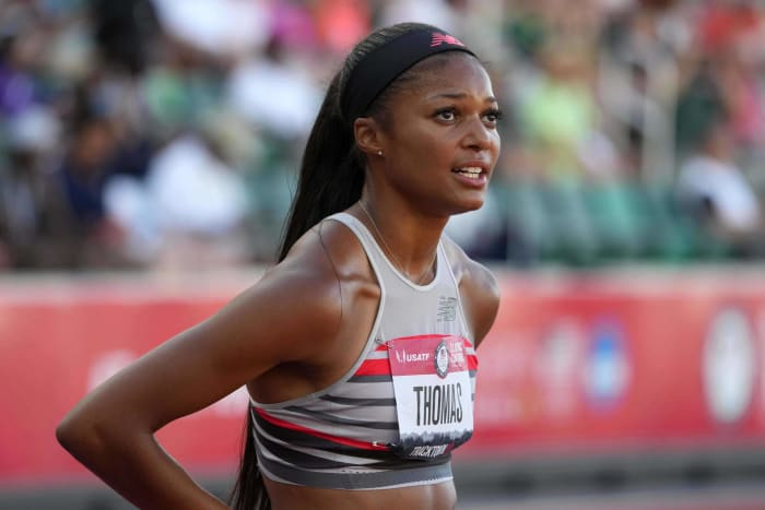 top track and field athletes