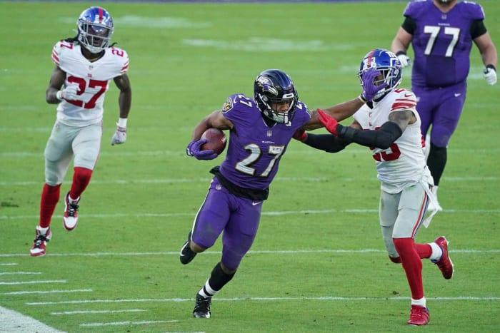Baltimore Ravens: J.K. Dobbins, RB