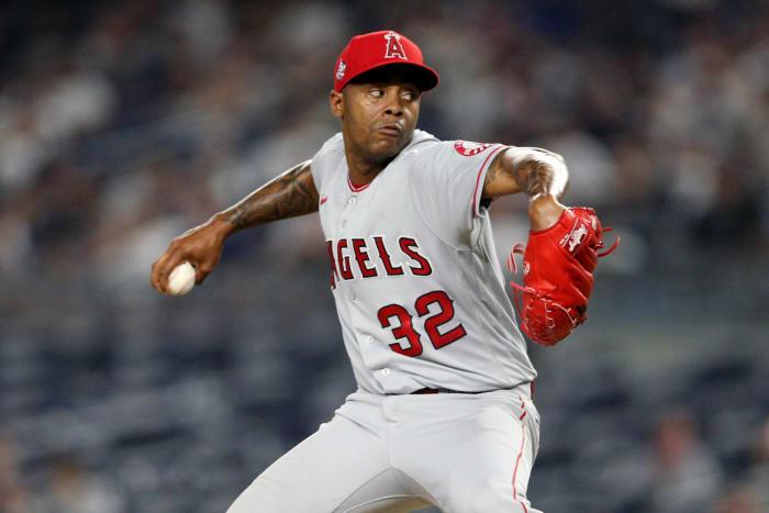 Raisel Iglesias, RP  Los Angeles Angels of Anaheim