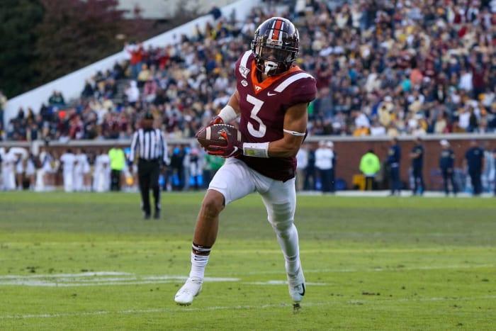 No. 22   Titans: Virginia Tech CB Caleb Farley