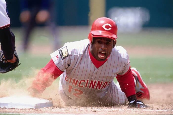 Stealing bases with the Reds