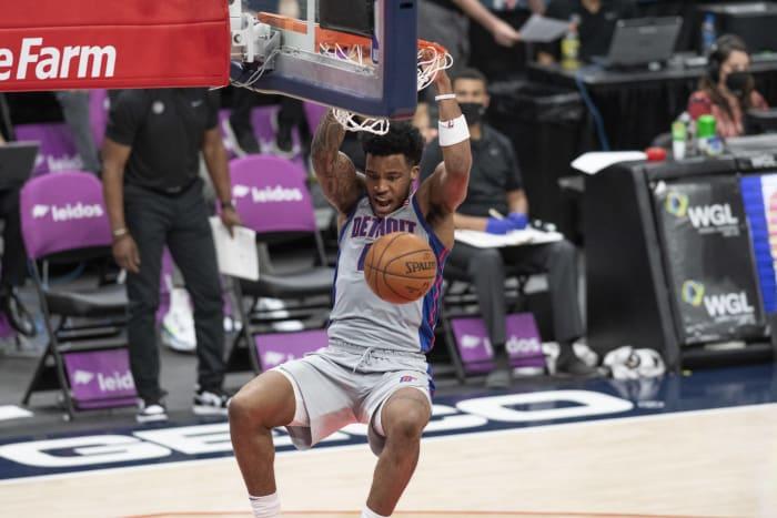 Saddiq Bey, Detroit Pistons