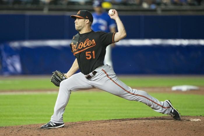 Paul Fry, RP  Baltimore Orioles