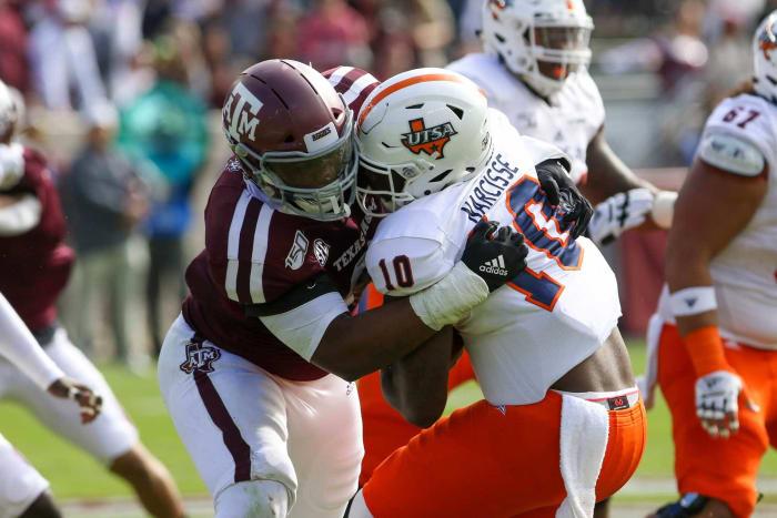 Jacksonville Jaguars: Demarvin Leal, DL, Texas A&M