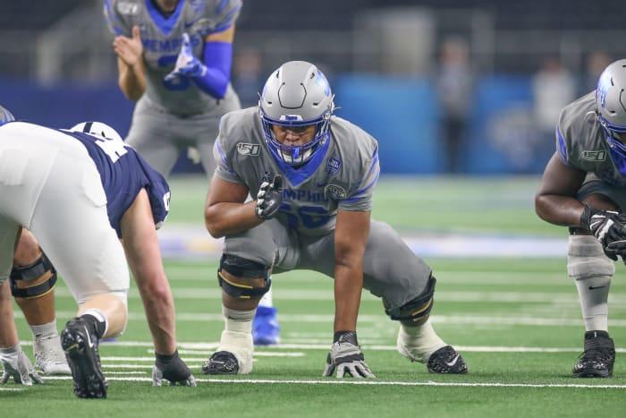 Dylan Parham, Offensive Guard, Memphis