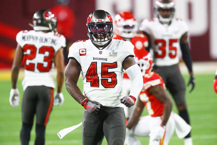 Tampa Bay Buccaneers: Devin White