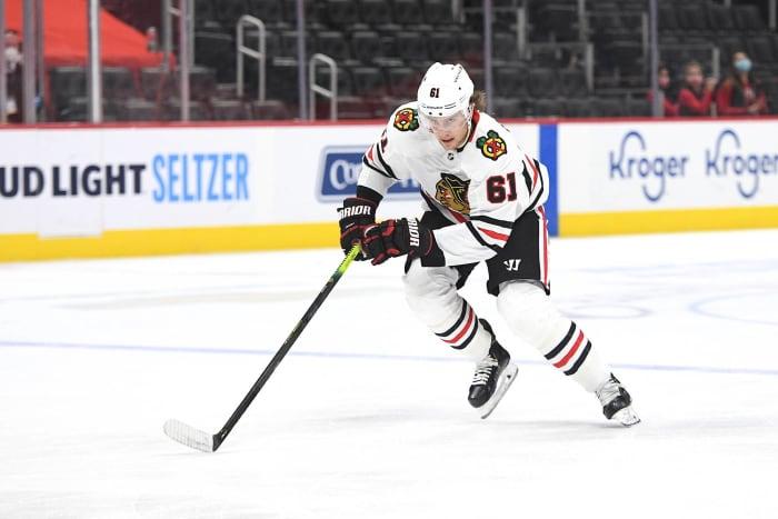 Defense: Riley Stillman  (Chicago Blackhawks)