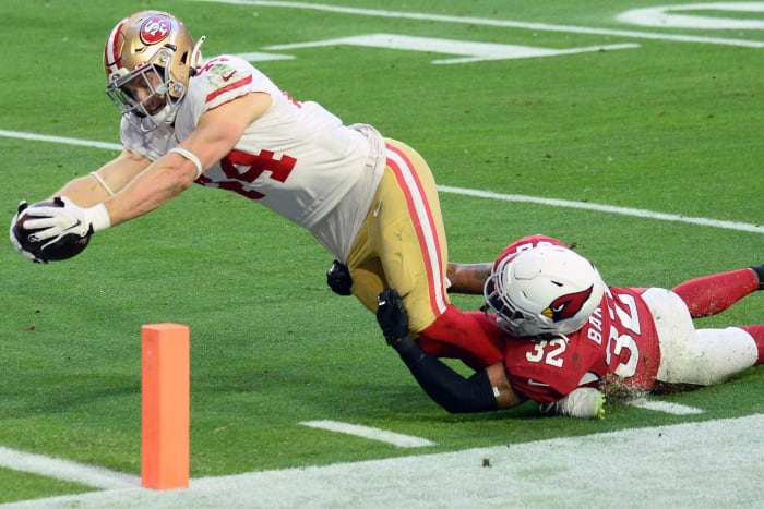 San Francisco 49ers: Re-signed FB Kyle Juszczyk