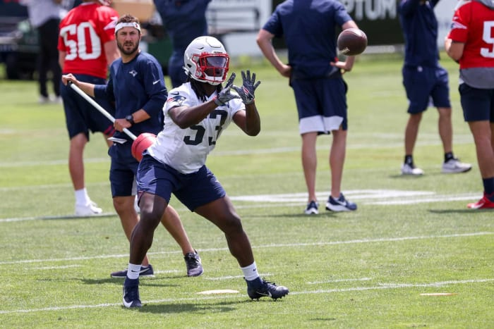 Rhamondre Stevenson, RB, Patriots