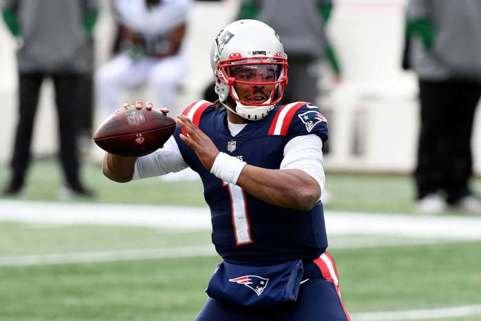New England Patriots: Re-signed QB Cam Newton