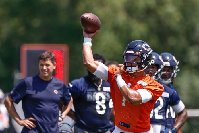 Justin Fields, QB, Bears