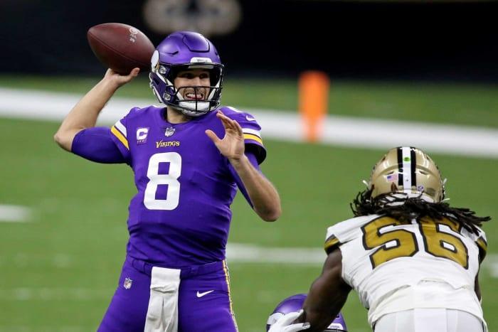 Minnesota Vikings: OL, DB, EDGE
