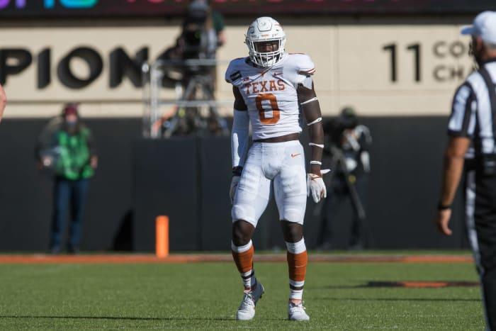 DeMarvion Overshown, Linebacker, Texas