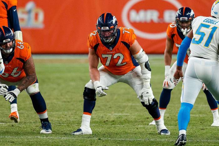 Underwhelming offensive tackle: Garett Bolles, Broncos
