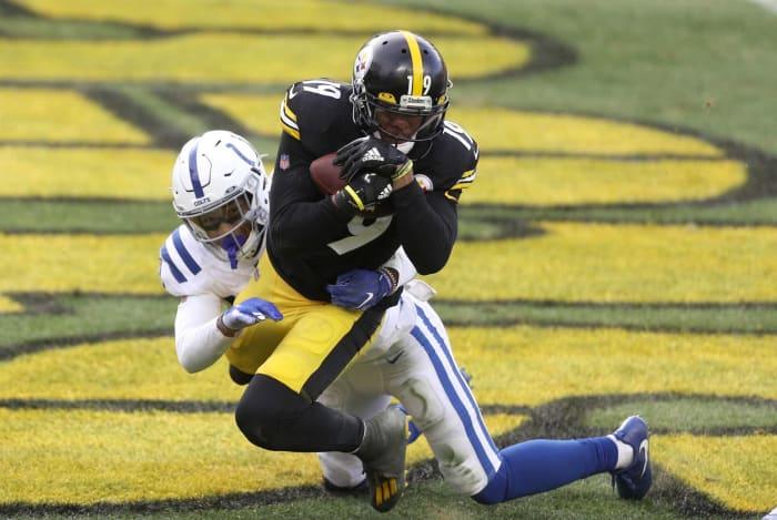 JuJu Smith-Schuster, WR, Steelers