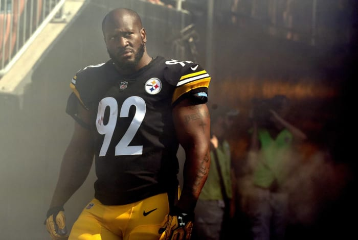 James Harrison, Pittsburgh Steelers