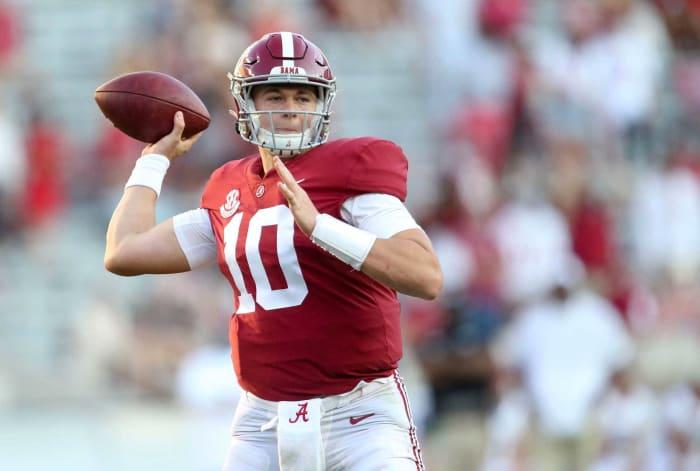 Alabama QB Mac Jones | Comp: Drew Brees