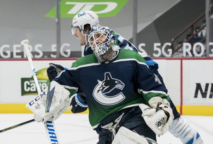 Braden Holtby, Vancouver Canucks