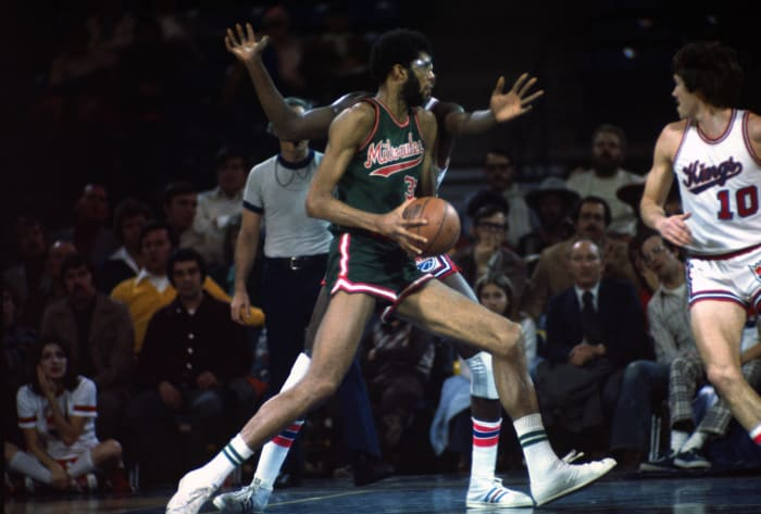 Kareem is drafted first overall by the Bucks and the Nets