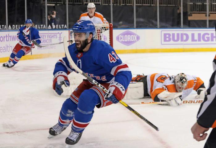 Forward: Colin Blackwell (New York Rangers)