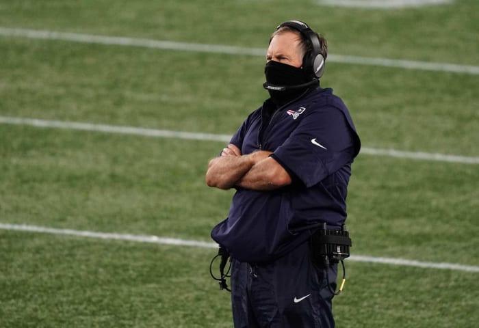 New England Patriots: DL, LB, DB, QB