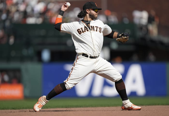The Giants owning the best record in the big leagues
