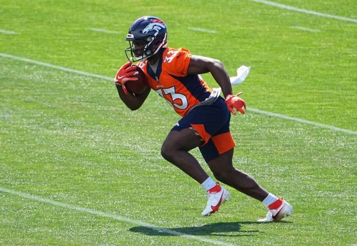 Javonte Williams, RB, Broncos