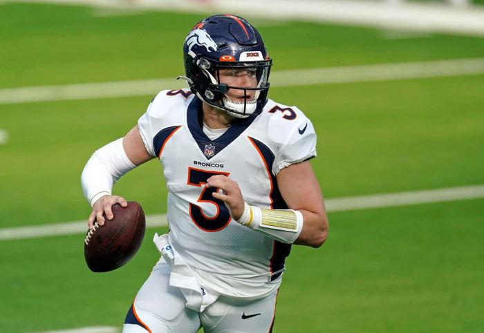 Denver Broncos: QB, RT, CB