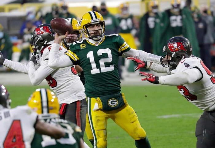 Green Bay Packers: OL, WR, ILB, CB