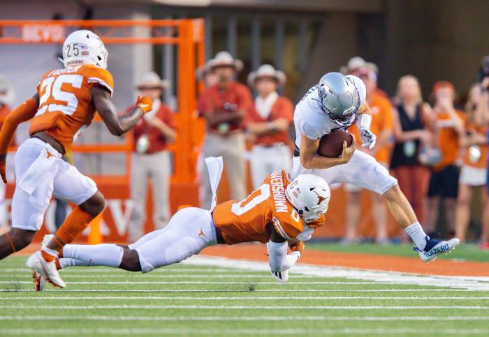 Texas Tech (3-0, 0-0 in Big 12) at Texas (2-1, 0-0 in Big 12), Noon, Saturday, ABC