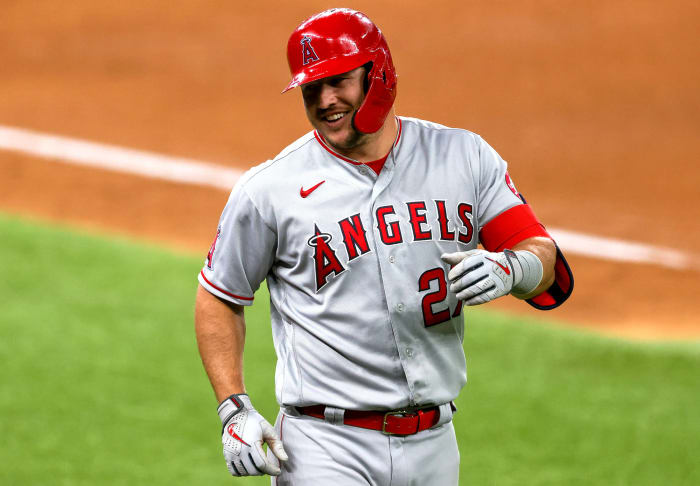 Mike Trout, 2012