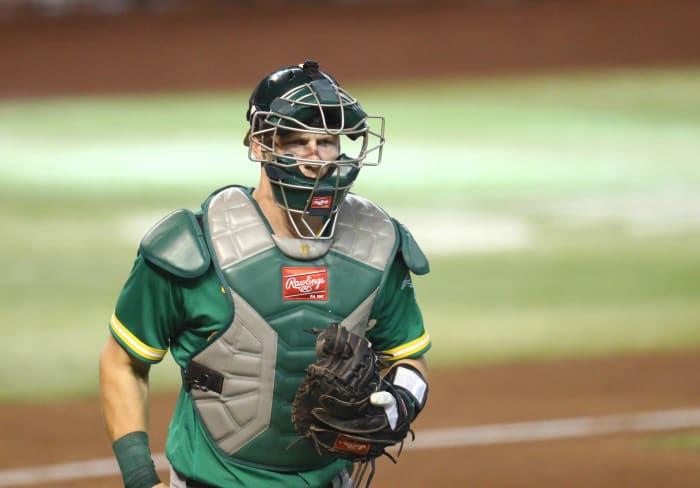 Sean Murphy, Athletics