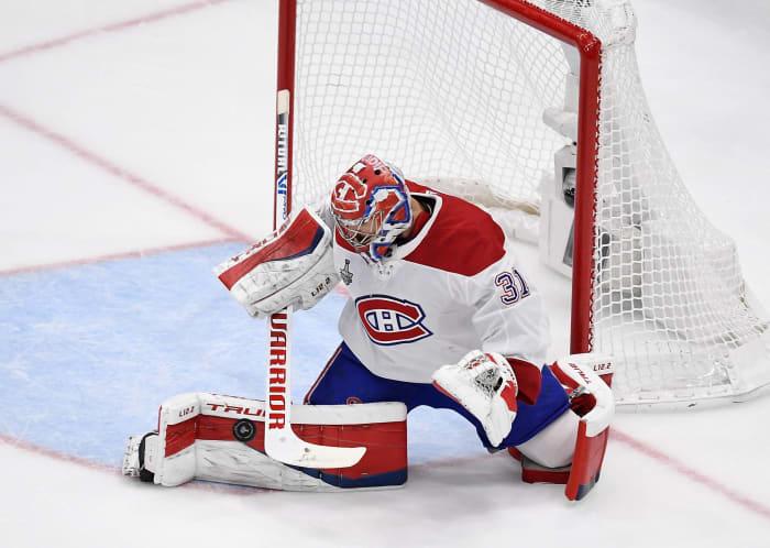 Perubahan harga Canadiens dan Carey
