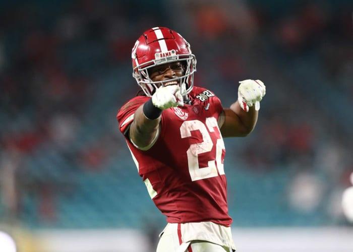 Alabama RB Najee Harris | Comp: Le'Veon Bell