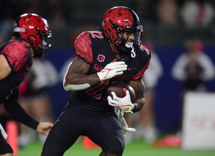 No. 24 San Diego State (5-0, 1-0 in Mountain West) at San Jose State (3-3, 1-1 in Mountain West), 10:30 a.m., Friday, CBS Sports Network