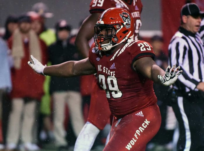 Los Angeles Rams: Alim McNeill, DL, NC State