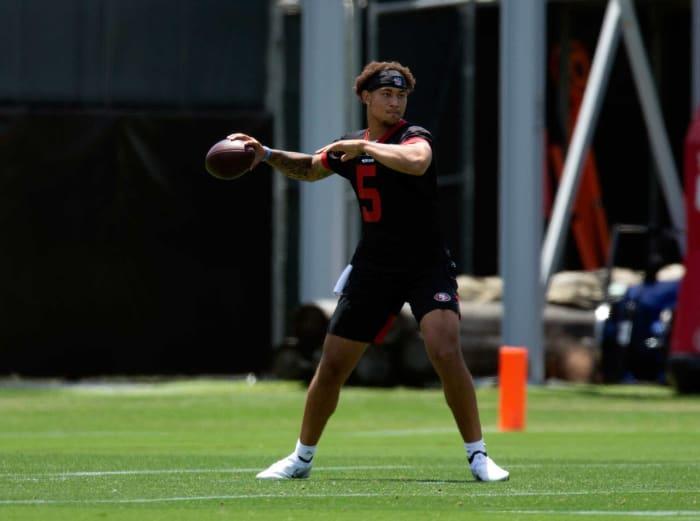Trey Lance, QB, 49ers
