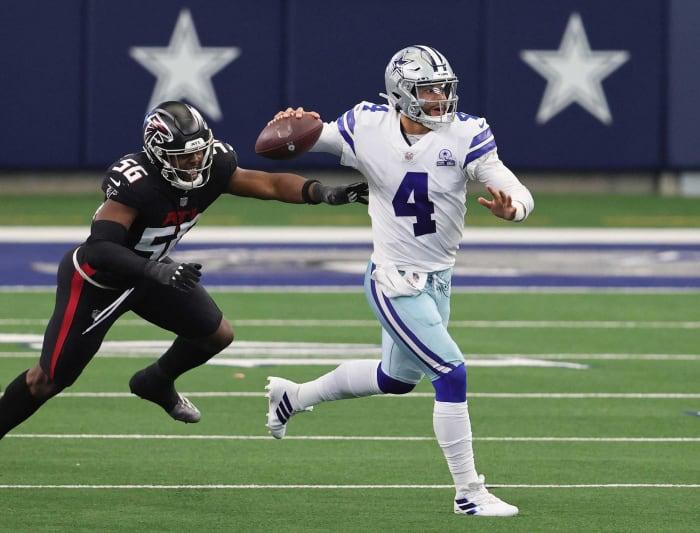 Dallas Cowboys: DE, DB, TE
