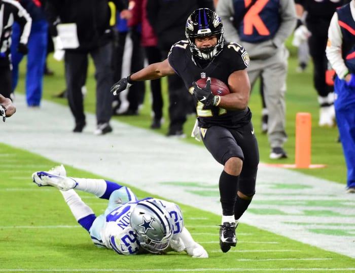 Baltimore Ravens Strength: Running Game